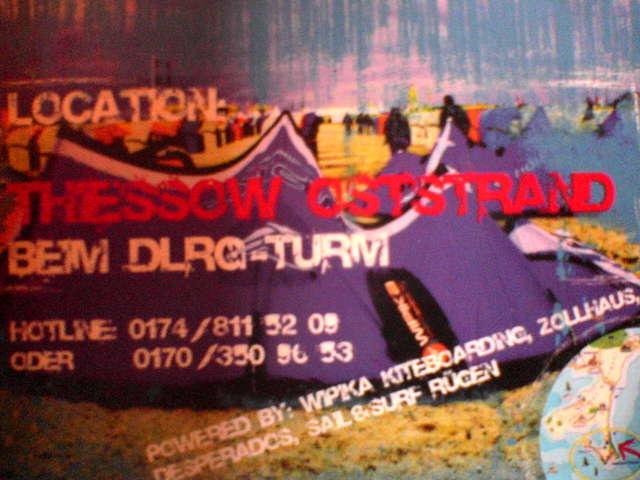 Party Flyer Kiteloop Ambient 5 Aug '06, 22:00