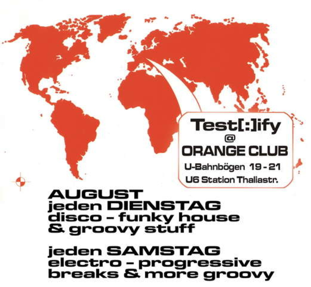 Party Flyer T E S T [:] I F Y 5 Aug '06, 22:00