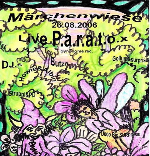 Party Flyer MÄRCHENWIESE 2 26 Aug '06, 22:00