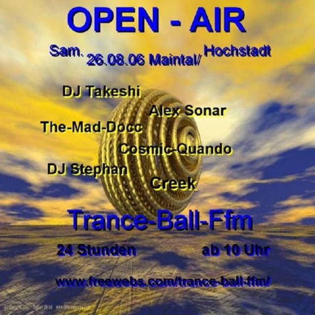 Party Flyer Trance-Ball_Ffm 26 Aug '06, 22:00
