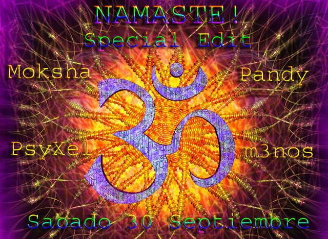 Party Flyer Namaste! 30 Sep '06, 23:30
