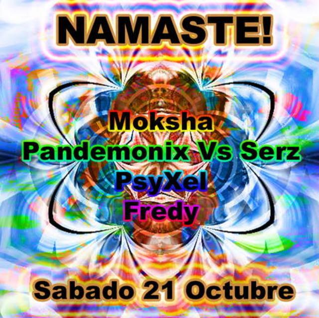 Party Flyer Namaste! 21 Oct '06, 23:30