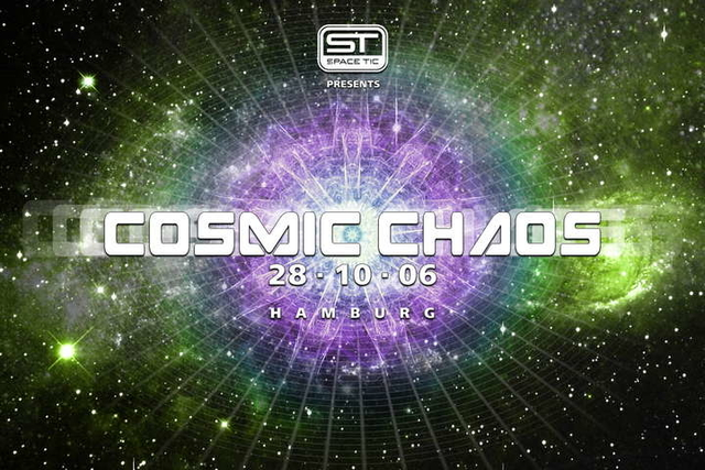 Party Flyer COSMIC CHAOS 28 Oct '06, 22:00