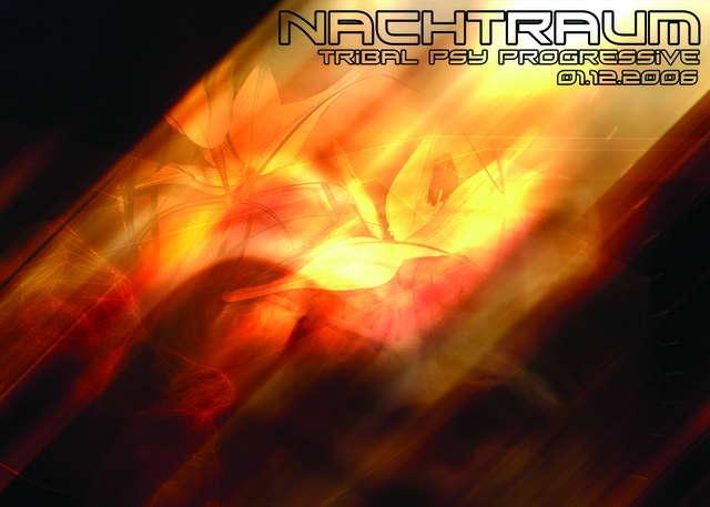Party Flyer Nachtraum 1 Dec '06, 23:00