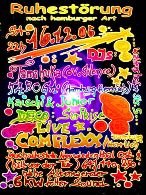 RUHESTÖRUNG (nach hamburger Art) 16 Dec '06, 22:00