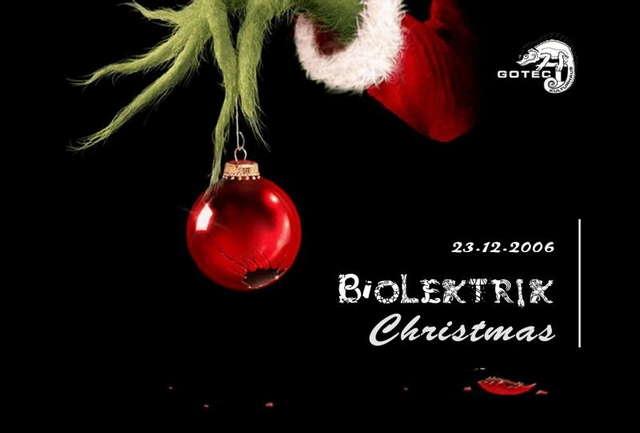 Party Flyer Biolektrik Christmas 23 Dec '06, 22:00