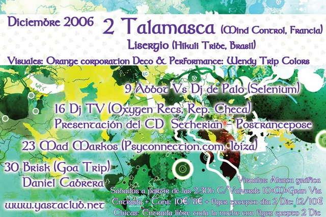 Party Flyer SELENIUM 23 Dec '06, 23:30