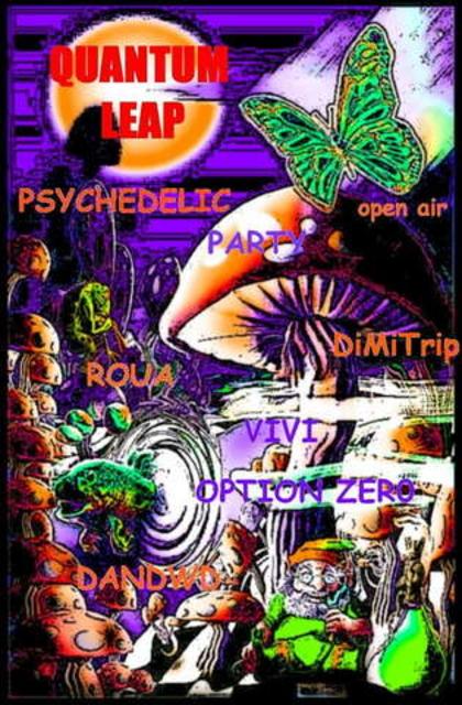 Party Flyer Quantum Leap 22 Sep '07, 22:00