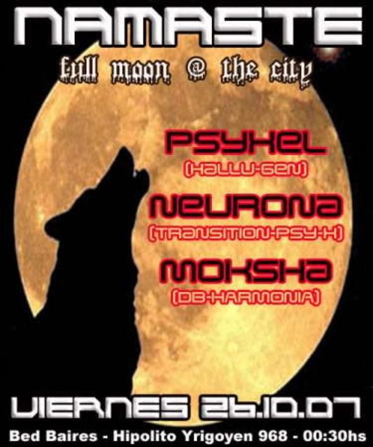 Party Flyer Namaste 26 Oct '07, 23:30
