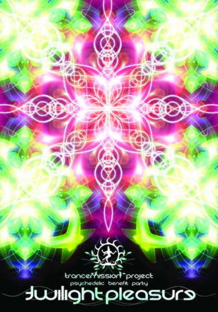 Party Flyer Twilight Pleasure - Trancemission benefit party 27 Oct '07, 22:00