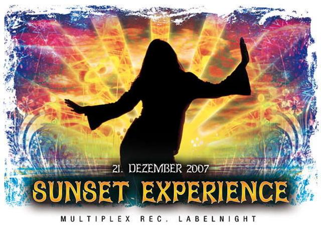 Party Flyer SUNSET EXPERIENCE (MULTIPLEX REC. LABELNIGHT) 21 Dec '07, 22:00