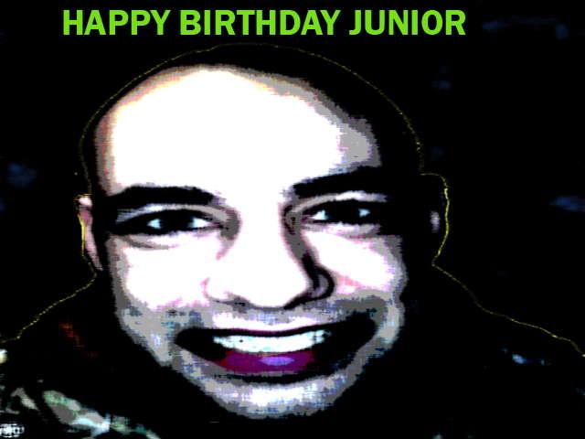 Party Flyer JUNIOR BIRTHDAY --Psychedelic Day-- Tutti invitati 1 Mar '08, 23:30