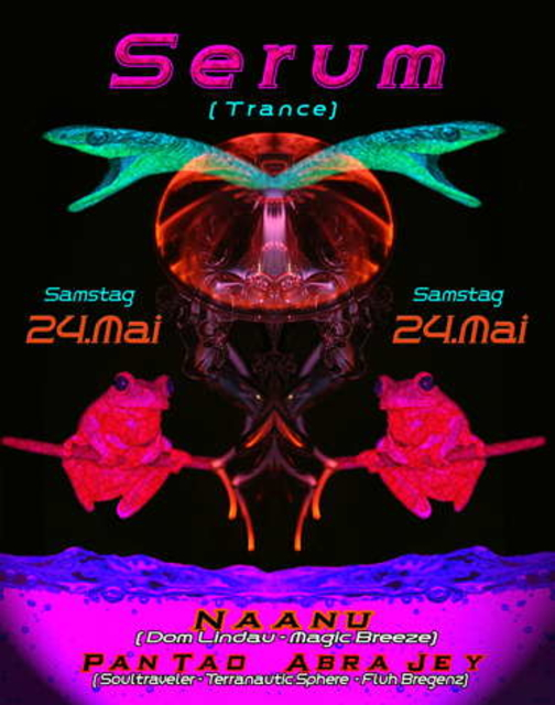 Party Flyer SERUM 24 May '08, 21:30