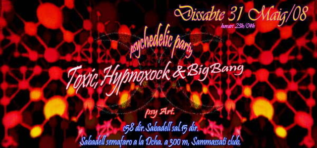 Party Flyer Psychedelic trance club 31 May '08, 23:00