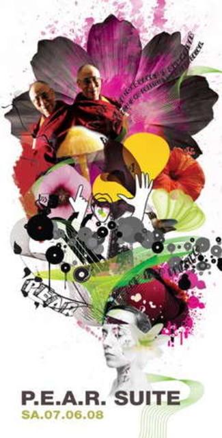 Party Flyer P.E.A.R. SUITE 7 Jun '08, 23:00