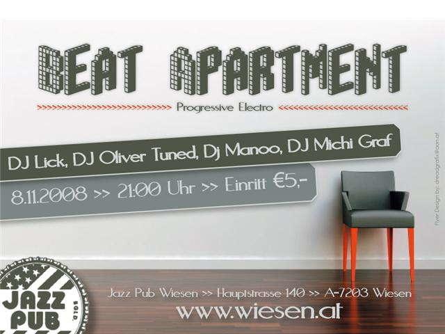 Party Flyer B_eat a_P_arte_M_ent 8 Nov '08, 21:00