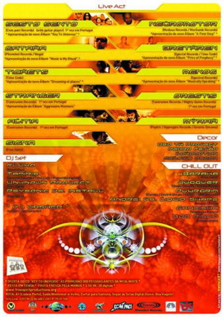 Party Flyer DIGITAL DANCE 15 Nov '08, 23:00