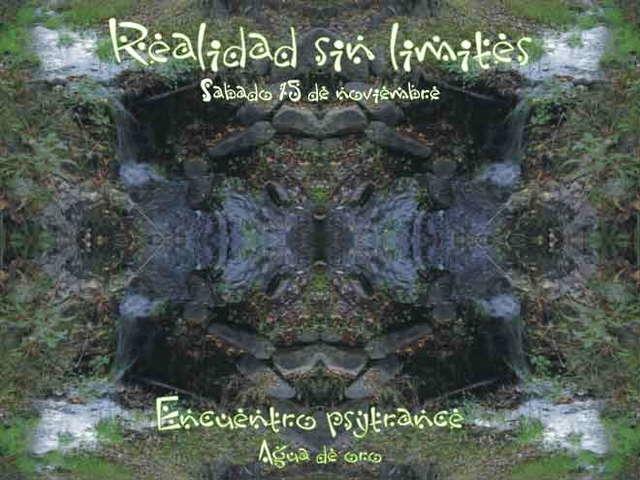 Party Flyer Realidad sin limites - psychedelic gathering 15 Nov '08, 22:00