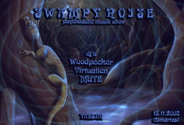 Party Flyer Swampy Noise 15 Nov '08, 22:00