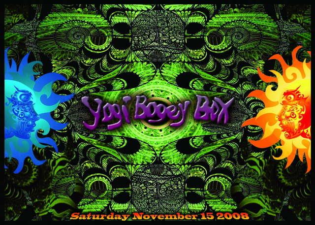 Party Flyer YogiBogeyBox presents KOXBOX Live, Ocelot Live and more... 15 Nov '08, 23:00