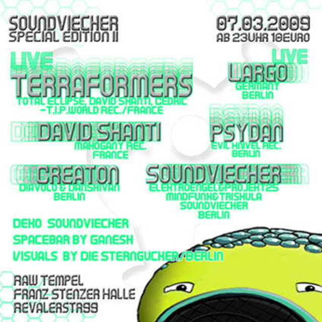 Party Flyer Soundviecher Special Edition 2 7 Mar '09, 23:00