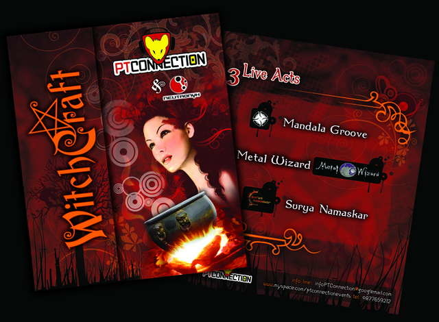 """PT Connection & Neutronyx pres. """"WITCHCRAFT"""" 9 May '09, 23:00"""