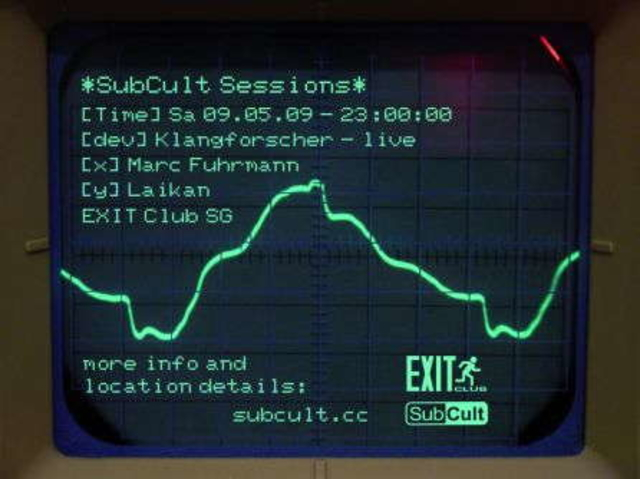 SubCult Sessions 9 May '09, 22:00