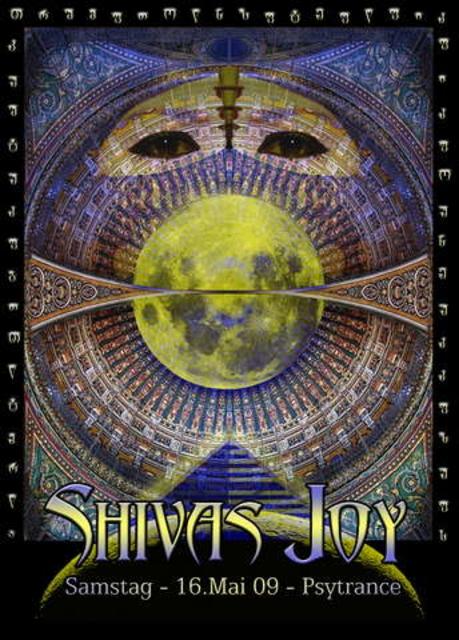 "Party Flyer ""SHIVAS JOY"" Comeback 16 May '09, 21:30"