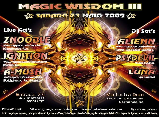 MaGiC WiSDoM III 23 May '09, 23:30