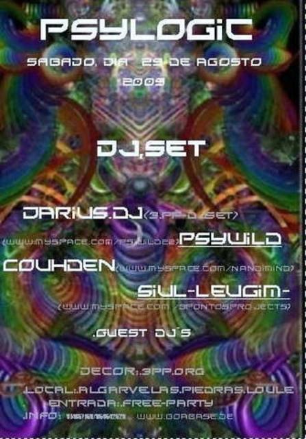 Party Flyer psytrance 29 Aug '09, 23:30