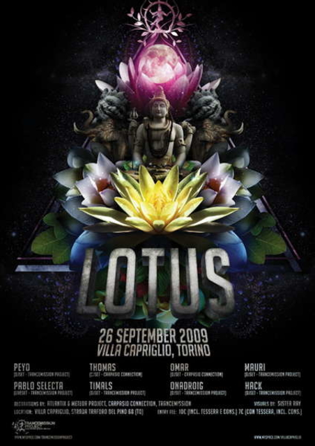 Party Flyer LoTuS 26 Sep '09, 23:00