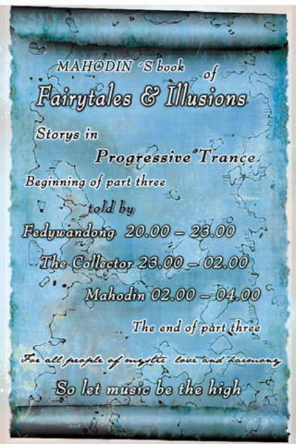 Party Flyer Fairytales .......Mahodin´s book of fairytales & illusions 1 Oct '09, 20:00