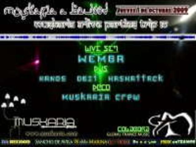 Party Flyer www.muskaria.com :: A-LIVE Vol10 @ Begood Club - FREE PARTY 1 Oct '09, 23:30