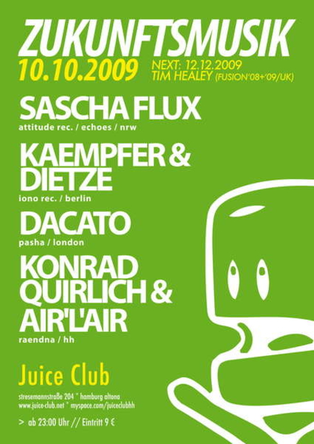 Party Flyer zzzz 1 Oct '09, 23:00