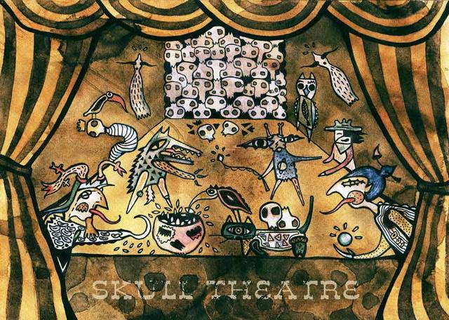 Party Flyer Skull theatre 30 Oct '09, 22:00