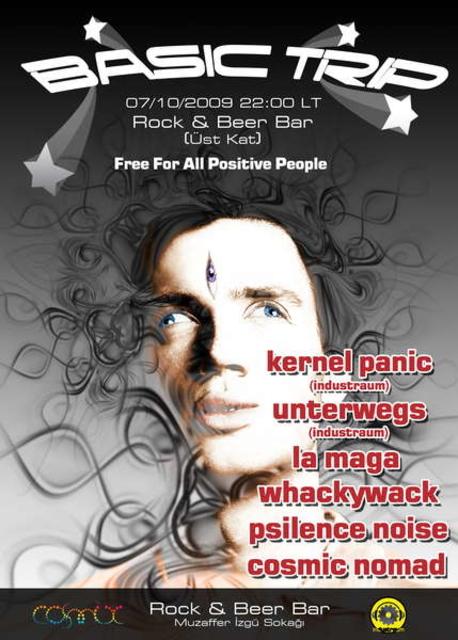 Party Flyer Basic Trip 7 Nov '09, 22:00