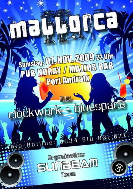 Party Flyer Sunbeam 7 Nov '09, 22:00
