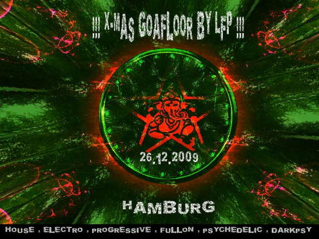 Party Flyer X-MAS - HIDDEN GOA FLOOR BY LFP 26 Dec '09, 23:00