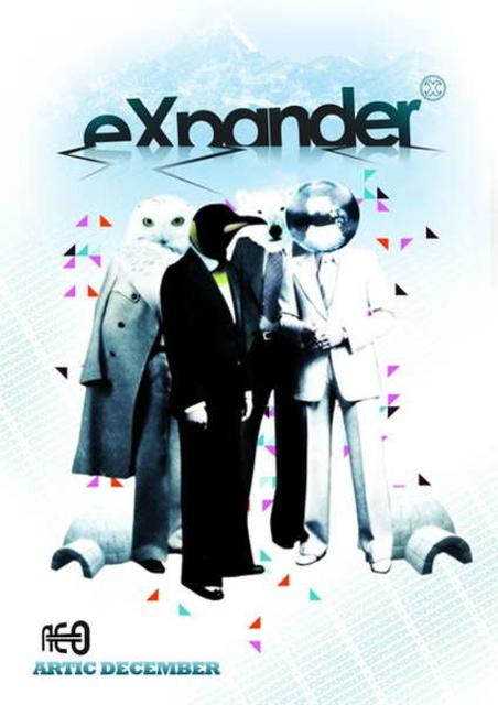 Party Flyer eXpander vs notek vs qatsi 9 Jan '10, 23:30
