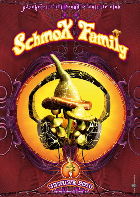 Party Flyer SchmoXFamily Club - Live: FABIO - 9 Jan '10, 23:00