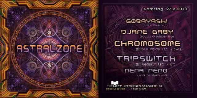 ASTRALZONE präsentiert CHROMOSOME live 27 Mar '10, 22:00