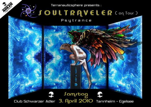 Party Flyer SOULTRAVELER 3 Apr '10, 21:00