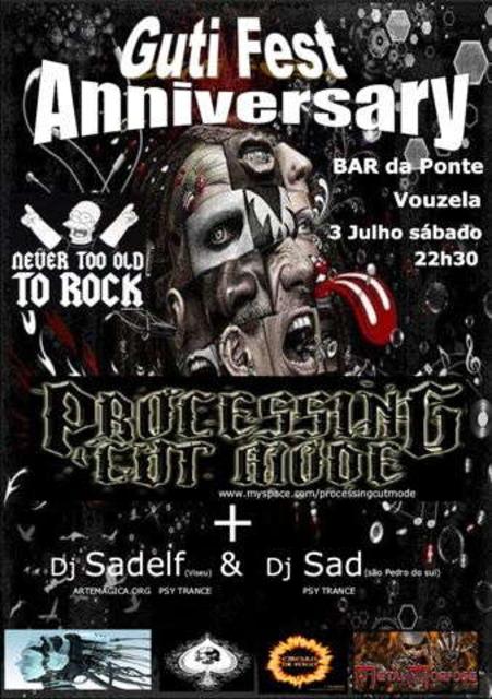 Party Flyer Guti Fest 3 Jul '10, 22:30