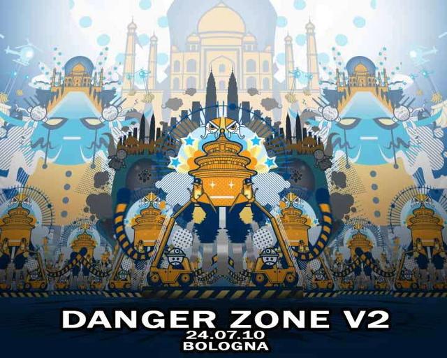 Party Flyer DANGER ZONE V2 24 Jul '10, 22:00