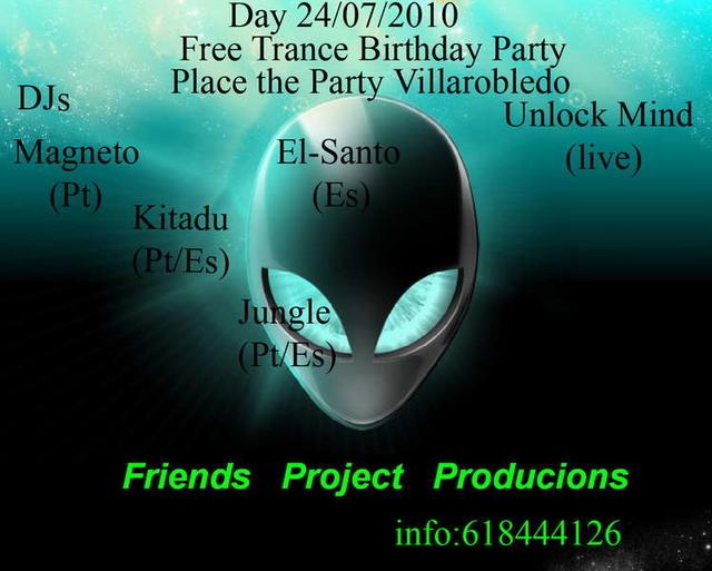 Party Flyer Friend*s Project 24 Jul '10, 23:00