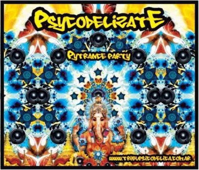 Party Flyer Psykodelizate Psytrance party 21 Aug '10, 22:00