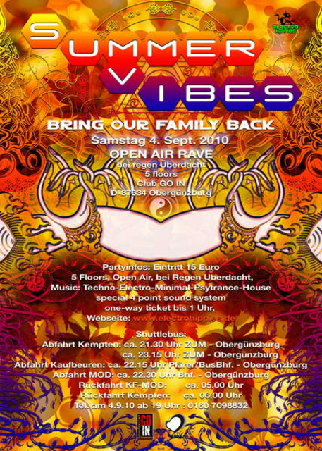 SUMMER VIBES - bring our family back 4 Sep '10, 22:00