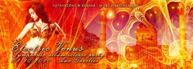ELECTRIC VENUS – SYMPHONIX NEW ALBUM RELEASE PARTY 1 Oct '10, 22:00