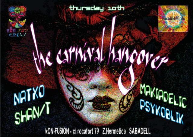 Party Flyer Bon Psy Crew @ Carnival Hangover 10 Mar '11, 22:30