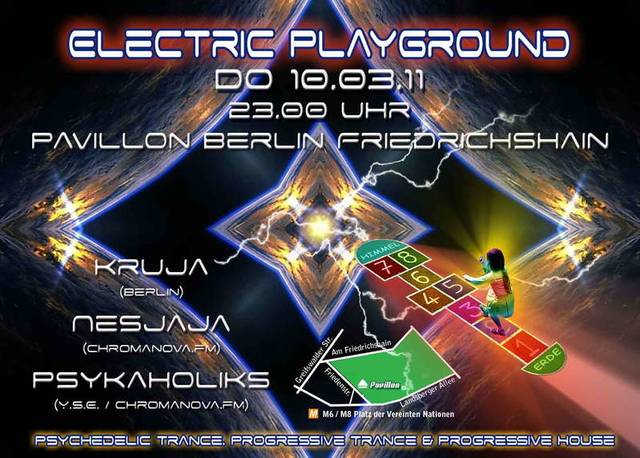Party Flyer Electric Playground #10 10 Mar '11, 23:00